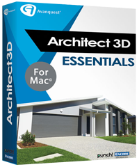 Architect 3D 2017 Mac Essentials (V19)