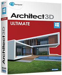 architect 3d 2015 ultimate edition advanced 3d home. Black Bedroom Furniture Sets. Home Design Ideas
